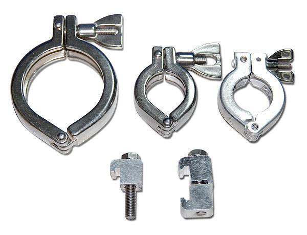 Vacuum Clamp/Hinged Clamp/Bulkhead Clamps