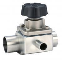 Aseptic 3 way Diaphragm Valve