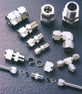 High Purity Gas Fittings, Swagelok Parker, Stainless Steel Ultra High purity Fittings