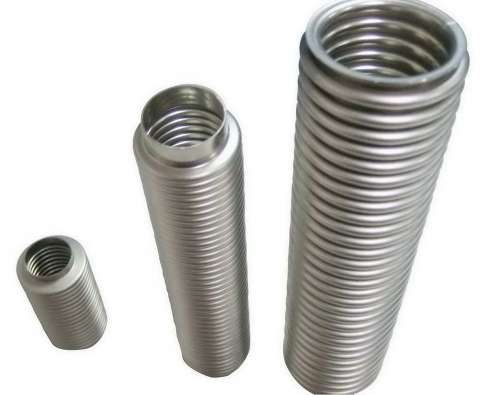 Stainless Steel Flexible Tubing, Formed Bellows